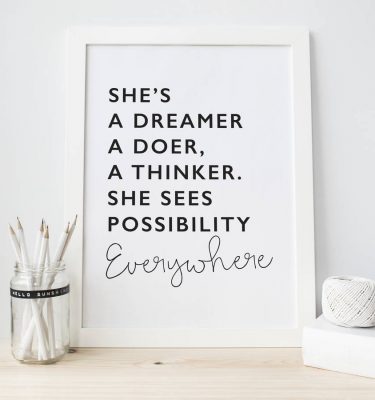original_dreamer-inspirational-typography-print
