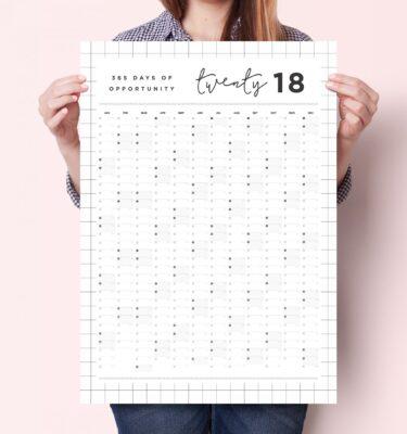 grid 2018 planner