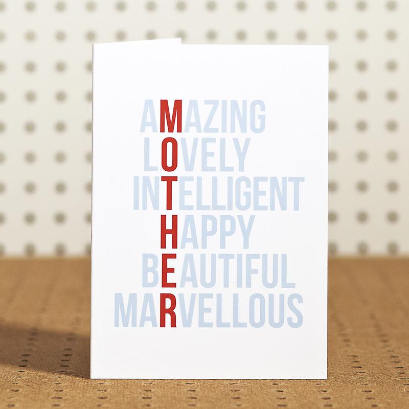 Amazing Mum Birthday Card