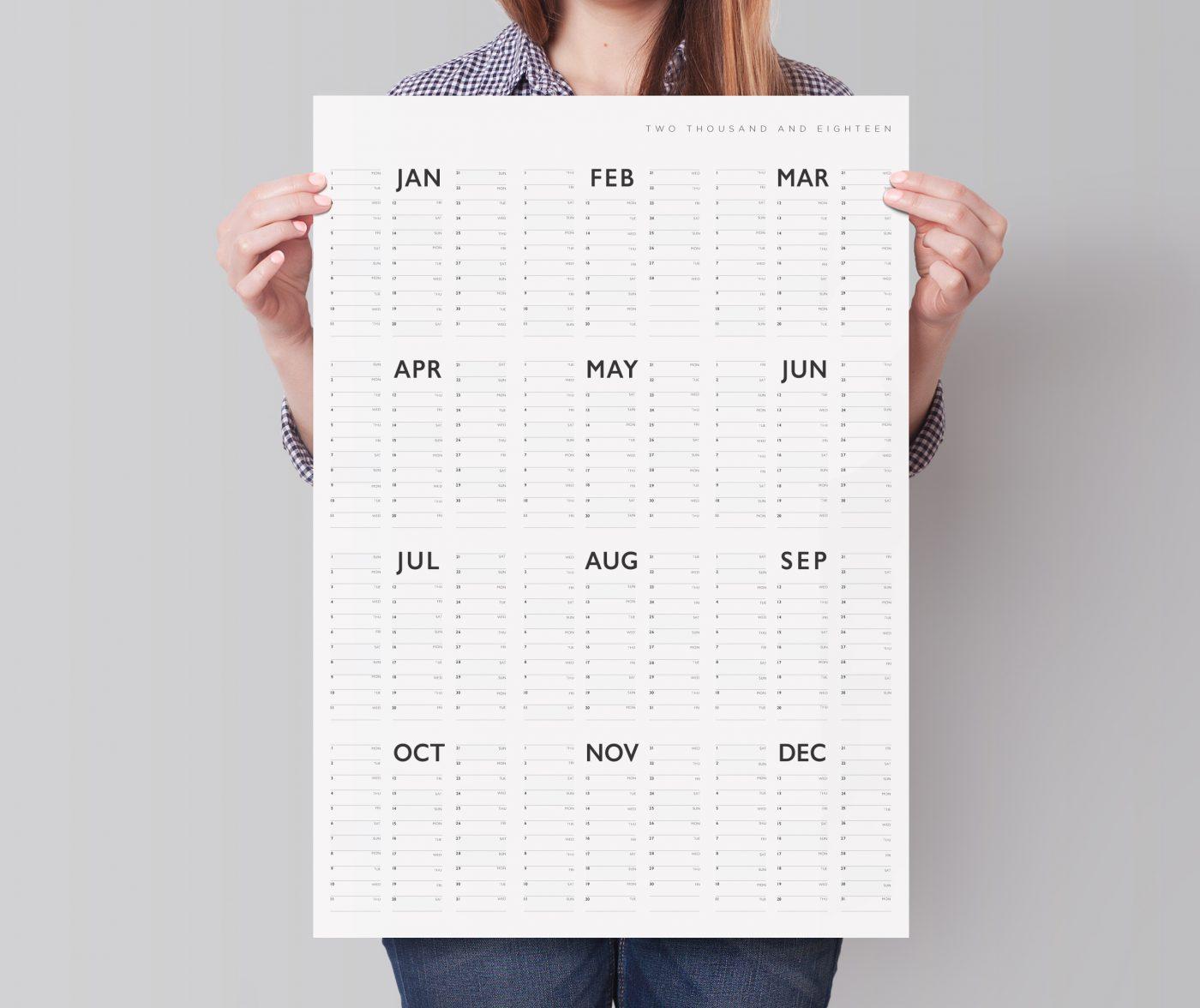 2018 List Year Planner